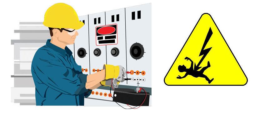 ایمنی در برق در محیط کار